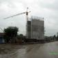 Строежа на магистралата край Църква