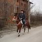 Теодор с кобила Викториа от кв.Църква